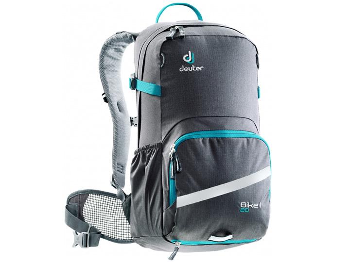 422bc2b2408 Deuter 20 Bike Backpack - Graphite-Petrol | Bikebug