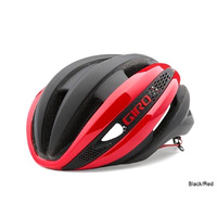 Giro Synthe Road Helmet - Black/Red - Small