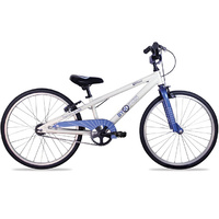 ByK E-450 Boys Bike - White/Grunge Blue