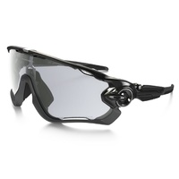 Oakley Jawbreaker - Polished Black/Clear to Black Photochromic