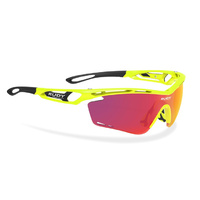 Rudy Project Tralyx Sunglasses - Yellow Fluo/Multilaser Orange