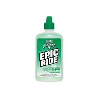 White Lightning Epic Ride Semi-Dry Lube - 120ml