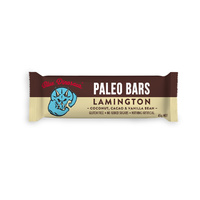 Blue Dinosaur Paleo Bars - Lamington