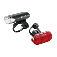 CatEye EL135 Front Light/Omni 3 LD135 Rear Light - Black