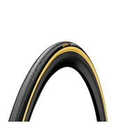 "Continental Giro Tubular Tyre - 28"" x 22mm - Black/Transparent"