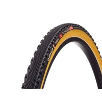 Challenge Chicane Pro Open Tubular Folding Clincher Tyre - Black/Tan 700c x 33mm