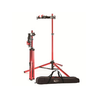 Feedback Sports Pro-Elite Repair Stand with Tote Bag - Red