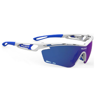 Rudy Project Tralyx XL Sunglasses - Laser - White Gloss - Multilaser Blue