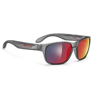 Rudy Project Sensor Sunglasses - Frozen Ash/Multilaser Red