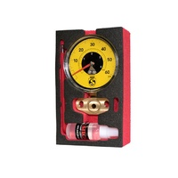 Silca Super Pista Ultimate 60psi High Pressure Gauge - Yellow