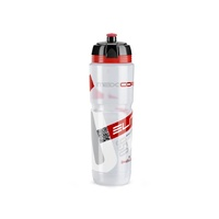 Elite Maxi Corsa Bottle - 1000ml - Clear/Red
