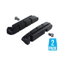 Shimano BR-9100 Brake Pad Inserts R55C4-A For Carbon Rims - 2 Pads