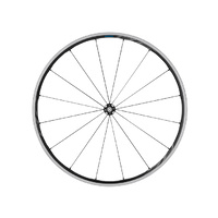 Shimano WH-RS700-C30 Clincher Wheel - Black - Front