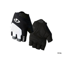 Giro Bravo Gel Gloves - Medium -  White/Black