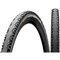 Continental Travel Contact Folding Tyre - Black - 28 x 1 3/8 x 1 5/8