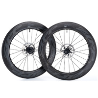 Zipp 808 NSW Carbon Clincher Tubeless Disc Wheel - Front