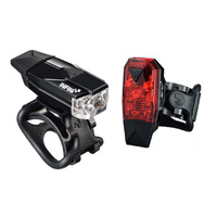 Infini I-261WR Mini Lava Rechargeable Front & Rear Lights