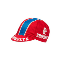 Apis Historical-Team Caps Brooklyn Red