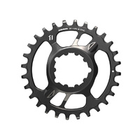 SRAM X-Sync Steel Direct Mount Chain Ring - 28T - Black - 6mm Offset