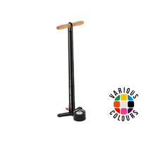 Lezyne Steel Floor Drive Floor Pump - Black
