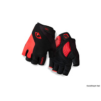 Giro Strade Dure Supergel Gloves - Black/Bright Red Small