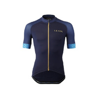 Le Col Pro Jersey Navy Hex - Navy/Hexagon Small