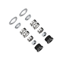 Favero Electronics Hex Nuts M6 - Oil Seal - End-Cap And Washers For Assioma - Set of Bearings