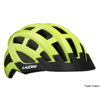 Lazer Compact Helmet - Flash Yellow Unisize