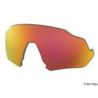 Oakley Flight Jacket Replacement Lenses - Prizm Ruby