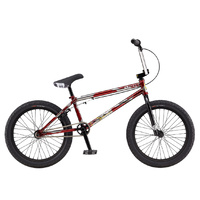 GT BK Team Signature BMX Bike - Red TT - 21.25""