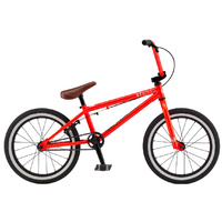 GT Performer Junior BMX Bike - Neon Red TT - 18""