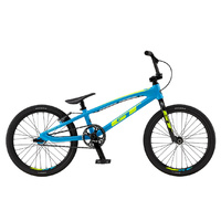 GT Speed Series Expert XL BMX Bike - Cyan/Neon Yellow TT - 20""