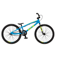 GT Speed Series Junior BMX Bike - Cyan/Neon Yellow TT - 18.5""