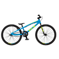 GT Speed Series Mini BMX Bike - Cyan/Neon Yellow TT - 17.5""