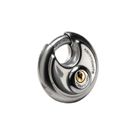 Kryptonite Stainless Steel Round Padlock
