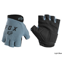 Fox Ranger Gel Short Glove - Light Blue Medium