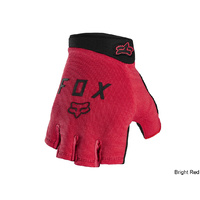 Fox Ranger Gel Short Glove - Bright Red Large