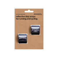 Bookman Snap Band Reflectors - Black