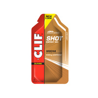 Clif Shot Gels Box of 24 - Mocha