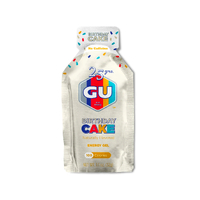 GU Energy Gels Box of 24 - Birthday Cake
