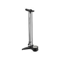 Birzman Maha Flick-It V Floor Pump - Silver