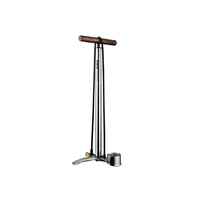 Birzman Maha Push & Twist III Floor Pump - Silver