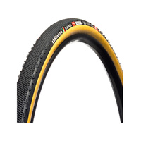 Challenge Almanzo Pro Tubeless Tubular Tyre - Black/Tan 700 x 33mm