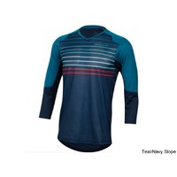Pearl Izumi Launch 3/4 Sleeve Jersey - Teal/Navy Slope XX-Large