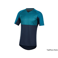 Pearl Izumi Launch Jersey - Teal/Navy Static X-Large
