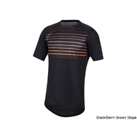 Pearl Izumi Launch Jersey - Black/Berm Brown Slope Large