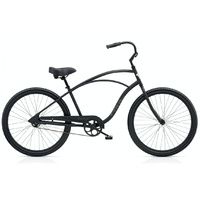 Electra Cruiser 1 Tall Mens Bike - Matte Black