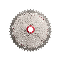 Sunrace CSMX80 11-Speed Wide-Ratio Cassette - Silver 11-40