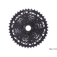 microSHIFT Advent CS-H093 9 Speed Cassette - Alloy 11-42