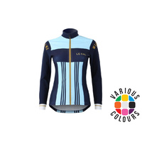 Le Col By Wiggins Womens Aqua Zero Long Sleeve Jersey - Pro